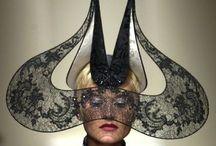 Hats, Caps, Helmets, Plumages, & Headgear Design / by Irene Niehorster