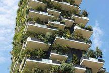 Green cities / Le più belle immagini dal mondo. #green #ecosostenibile #giardiniverticali #città #cities @city