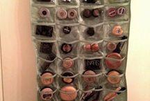 Makeup Organization Storage Beauty Station / Makeup vanity storage and inspiration.