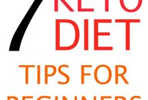 Keto Diet for Beginners / Keto diet for beginners, ketogenic diet guide, low carb high fat tips and facts