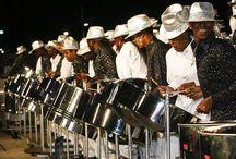 Die Steeldrum - Trinidadisches Nationalinstrument