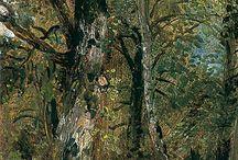 Woodland paintings