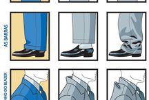 Kresby - pravidla pánského odívání