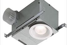 Decorative Bathroom Fan/Lights