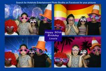 Louise's 90th Birthday - Photo Booth Hire / Celebrating Louise's 90th Birthday