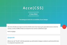 Accessibility / Tools or resources for making sites more accessible.