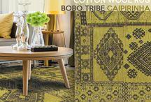 Cotton-wool rugs