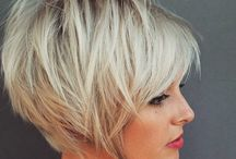 cabelo curto platinado