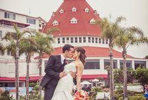 Hotel Del Coronado Wedding Photos and Photographer / The Famous Hotel Del Coronado is one San Diego's most popular wedding venues. San Diego Wedding photography by www.hollyireland.com