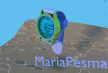 watch / 3d modeling