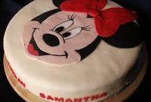 Minnie mouse kuchen deko