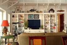 Coastal Living Rooms / Living rooms with a coastal, nautical and beach theme. / by Completely Coastal