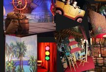 Props, sets, backdrops...the THEATRE!!  / by Meme  Simmons