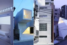 Micro Homes (Kyosho Jutaku) / For my dream to own a micro home in Tokyo or Kyoto or Osaka one day :) / by Noriko Staton