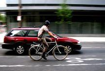 Commuting by bike. Because driving sucks.