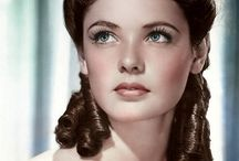 Gene Tierney / Gene Tierney- Born: November 19, 1920, Brooklyn, New York City, NY Died: November 6, 1991, Houston, TX / by Elizabeth Ayala