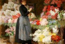 flower market ladies