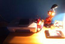 Ufficio in casa / Trasformazioni varie del mio angolo lavorativo