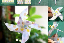 DIY・Party Craft Ideas / 手作りで誕生日を素敵に演出するためのオーナメントやデコレーションの作り方を集めたボード