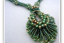Beads, Perles, Cuentas .... / Trabajos con Abalorios