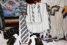 Romanian Traditional Blouses Beaded and Embroidered / The Romanian tradition is the expression of some very special artistic skills, proving an obsessive preoccupation of the peasants toward the uniqueness of their creation. They master their primitive tools to create exceptional woven and manually embroidered clothing with beautiful and unique ornaments in vibrating colors. #traditional #blouse #blouses #ethnic #top #tops #textiles #romanian #handmade #beads #beaded #embroidered #vintage #retro