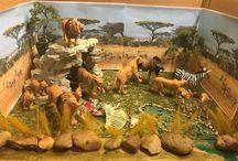 Africa diorama
