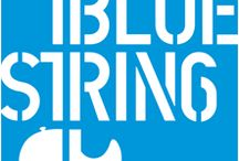 1BlueString / In an effort to raise awareness for adult male survivors of childhood sexual abuse, 1BlueString gives out single blue E strings to guitarists. By using 1BlueString, guitarists show support for the 1 in 6 men who have suffered and survived childhood sexual abuse. More info is available at 1BlueString.org and 1in6.org