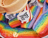 Rainbow Colors / Beautiful Rainbow colors ;) / by The Wacky Cookie Company