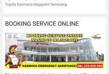 Aplikasi Booking Service Online Dealer Toyota Nasmoco Majapahit / Aplikasi Booking Service Online Dealer Toyota Nasmoco Majapahit