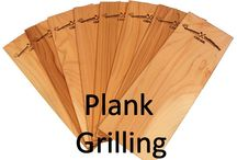 Plank Grilling / Take your grilling from boring to restaurant grade with plank grilling. Learn all about the products you need to help make grilling with a plank more fun and tasty, too! Plank grilling is simple and it can help elevate your grilling from same old, same old to amazing. All you need is a grill plank, meat or veggies, and your grill to get going!