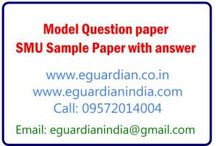 SAMPLE / MODEL QUESTION PAPERS