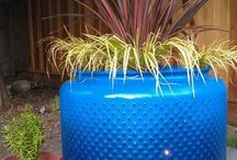 Outdoor pot/planter