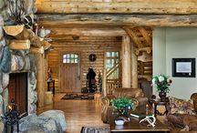 Love this log cabin style / by Terry Cyphert