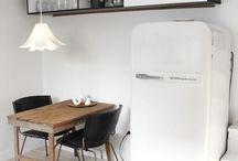 Balck and white interiors