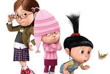 többi lány szereplők a minionokból