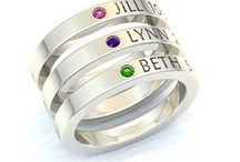 Stackable Birth Rings