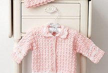 Crochet patterns - Baby Sweaters/Cardigans / by Tricia Holmes