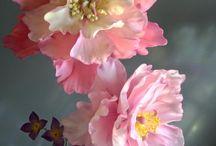 Pink flower tutorial
