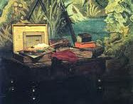 Claude Monet  / The board of famouse impressionist peinter who lived in 1840- 1926.