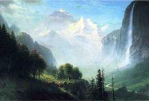 Albert Bierstadt / by Antonio Navarro Jr