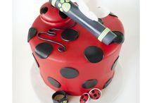 Uğur böceği pastası