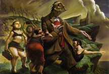 Artist: Peter Howson / by Shawn Reed