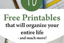 Planners and printables