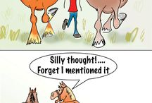 Hestegrinet / Her kan du få dig et godt grin