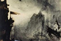 Victor Hugo paintings