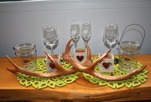Antlers  / my Antlers for winter weddings