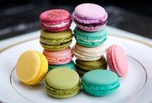 macarons / macaron + macaron + macaron + macaron / by Jennifer Diane