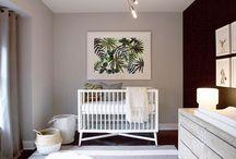 Palm and Banana Leaves Inspired Nursery