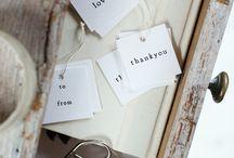 { Paket & etiketter ~ Presents & Gift tags } / Paket, present inslagning, etiketter, presents, gift tags, DIY, crafts