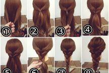 Diy μαλλιά